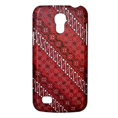 Red Batik Background Vector Galaxy S4 Mini