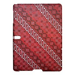Red Batik Background Vector Samsung Galaxy Tab S (10 5 ) Hardshell Case  by BangZart
