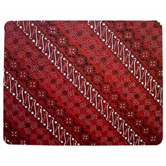 Red Batik Background Vector Jigsaw Puzzle Photo Stand (rectangular)