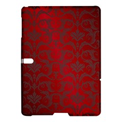 Red Dark Vintage Pattern Samsung Galaxy Tab S (10 5 ) Hardshell Case
