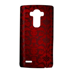 Red Dark Vintage Pattern Lg G4 Hardshell Case by BangZart