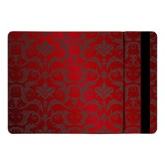 Red Dark Vintage Pattern Apple Ipad Pro 10 5   Flip Case