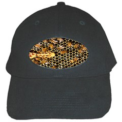 Queen Cup Honeycomb Honey Bee Black Cap