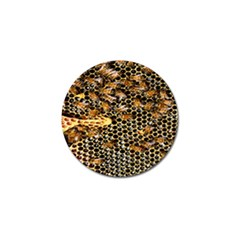 Queen Cup Honeycomb Honey Bee Golf Ball Marker (4 Pack) by BangZart