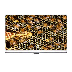 Queen Cup Honeycomb Honey Bee Business Card Holders