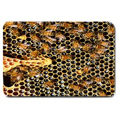 Queen Cup Honeycomb Honey Bee Large Doormat