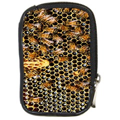 Queen Cup Honeycomb Honey Bee Compact Camera Cases