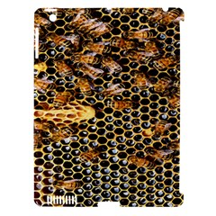 Queen Cup Honeycomb Honey Bee Apple Ipad 3/4 Hardshell Case (compatible With Smart Cover)