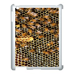 Queen Cup Honeycomb Honey Bee Apple Ipad 3/4 Case (white) by BangZart