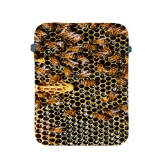 Queen Cup Honeycomb Honey Bee Apple Ipad 2/3/4 Protective Soft Cases by BangZart