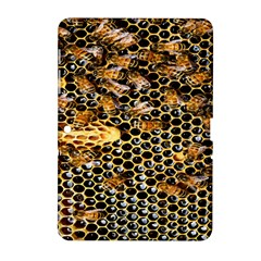 Queen Cup Honeycomb Honey Bee Samsung Galaxy Tab 2 (10 1 ) P5100 Hardshell Case