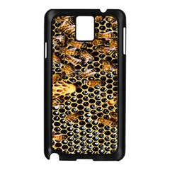 Queen Cup Honeycomb Honey Bee Samsung Galaxy Note 3 N9005 Case (black)
