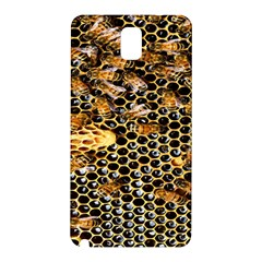 Queen Cup Honeycomb Honey Bee Samsung Galaxy Note 3 N9005 Hardshell Back Case by BangZart