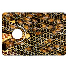 Queen Cup Honeycomb Honey Bee Kindle Fire Hdx Flip 360 Case by BangZart