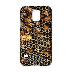 Queen Cup Honeycomb Honey Bee Samsung Galaxy S5 Hardshell Case