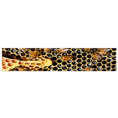 Queen Cup Honeycomb Honey Bee Flano Scarf (small) by BangZart