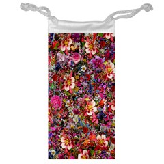 Psychedelic Flower Jewelry Bag