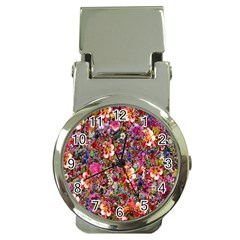 Psychedelic Flower Money Clip Watches by BangZart