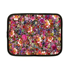 Psychedelic Flower Netbook Case (small)