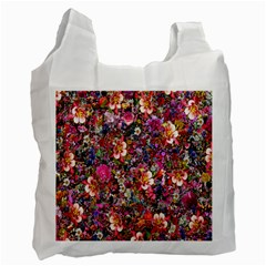 Psychedelic Flower Recycle Bag (one Side)
