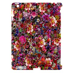 Psychedelic Flower Apple Ipad 3/4 Hardshell Case (compatible With Smart Cover)