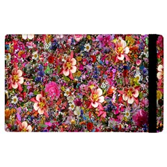 Psychedelic Flower Apple Ipad 3/4 Flip Case