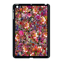 Psychedelic Flower Apple Ipad Mini Case (black) by BangZart