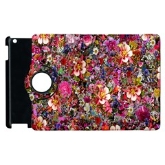 Psychedelic Flower Apple Ipad 3/4 Flip 360 Case by BangZart