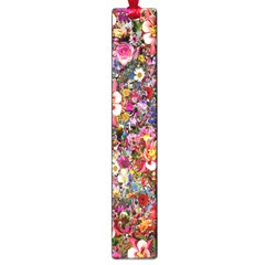 Psychedelic Flower Large Book Marks by BangZart