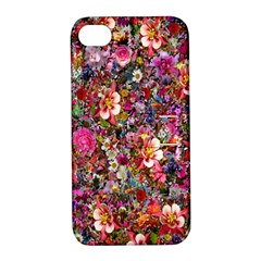 Psychedelic Flower Apple Iphone 4/4s Hardshell Case With Stand by BangZart