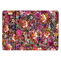 Psychedelic Flower Samsung Galaxy Tab 10 1  P7500 Flip Case