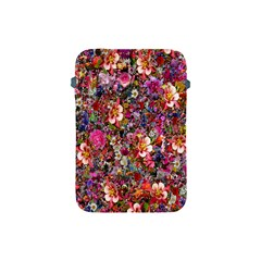 Psychedelic Flower Apple Ipad Mini Protective Soft Cases by BangZart