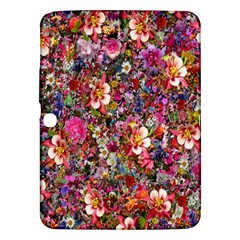 Psychedelic Flower Samsung Galaxy Tab 3 (10 1 ) P5200 Hardshell Case  by BangZart