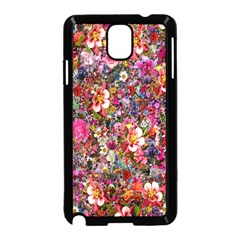 Psychedelic Flower Samsung Galaxy Note 3 Neo Hardshell Case (black) by BangZart