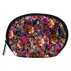 Psychedelic Flower Accessory Pouches (medium)