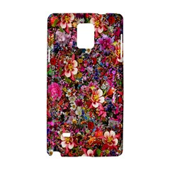 Psychedelic Flower Samsung Galaxy Note 4 Hardshell Case