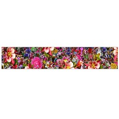 Psychedelic Flower Flano Scarf (large)