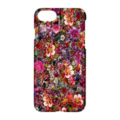 Psychedelic Flower Apple Iphone 7 Hardshell Case by BangZart