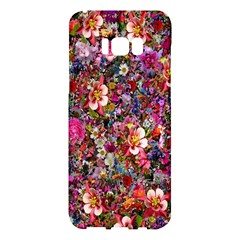 Psychedelic Flower Samsung Galaxy S8 Plus Hardshell Case  by BangZart