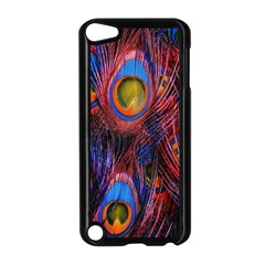 Pretty Peacock Feather Apple Ipod Touch 5 Case (black) by BangZart