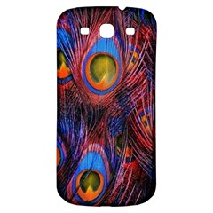 Pretty Peacock Feather Samsung Galaxy S3 S Iii Classic Hardshell Back Case