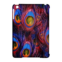 Pretty Peacock Feather Apple Ipad Mini Hardshell Case (compatible With Smart Cover) by BangZart