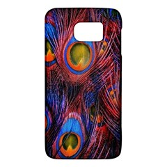 Pretty Peacock Feather Galaxy S6 by BangZart