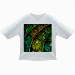 Psytrance Abstract Colored Pattern Feather Infant/toddler T Shirts