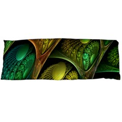 Psytrance Abstract Colored Pattern Feather Body Pillow Case (dakimakura)