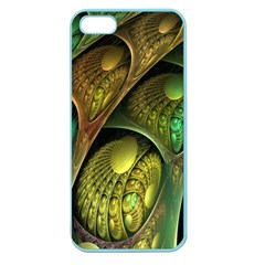 Psytrance Abstract Colored Pattern Feather Apple Seamless Iphone 5 Case (color)