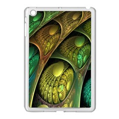 Psytrance Abstract Colored Pattern Feather Apple Ipad Mini Case (white)