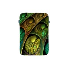 Psytrance Abstract Colored Pattern Feather Apple Ipad Mini Protective Soft Cases by BangZart