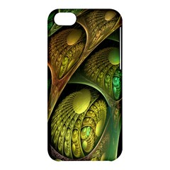 Psytrance Abstract Colored Pattern Feather Apple Iphone 5c Hardshell Case by BangZart