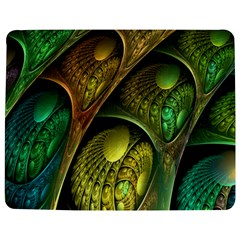 Psytrance Abstract Colored Pattern Feather Jigsaw Puzzle Photo Stand (rectangular) by BangZart